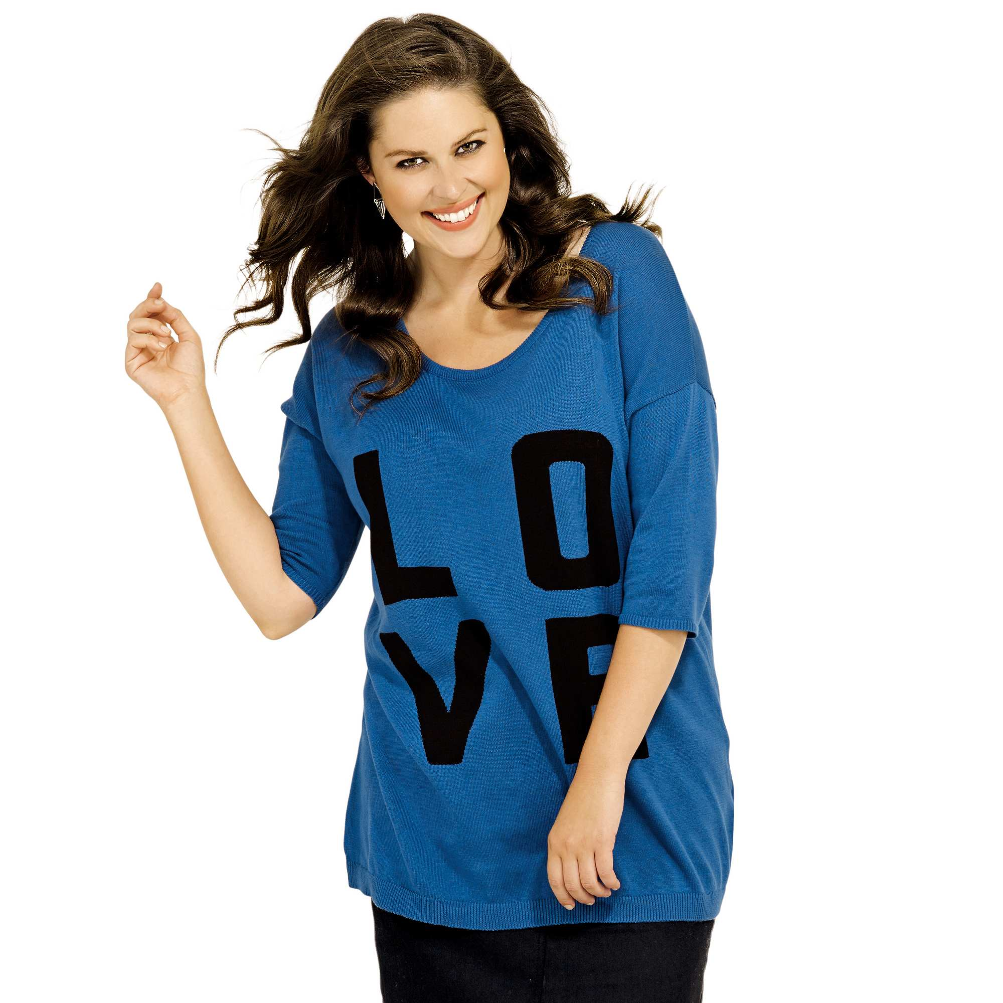 Pull grande taille femme